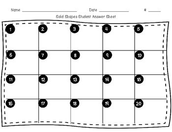 3D/Solid Shapes Task Cards SOL 4.11