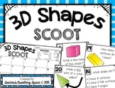 3D / Solid Shapes Scoot --- 3D Shapes Game