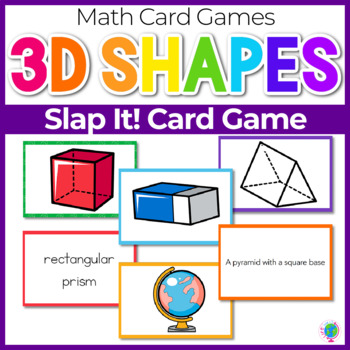 "3D Solid Shapes ""Slap-It!"" Card Game"