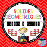 3D Solid Task Cards - FRENCH