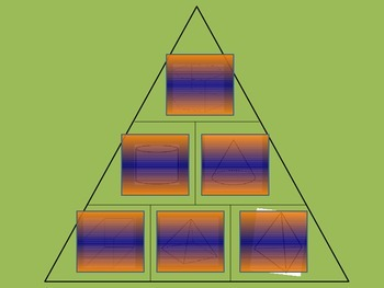 3D Solids- $100,000 Pyramid Game