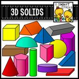 3D Solids Clip Art