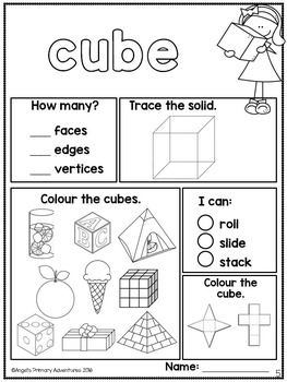 3D Solids Printables (Canadian Edition)
