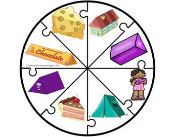 3D Figures Puzzles and Graphing Activities