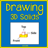 3D Solids Task Cards