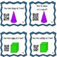 Properties of 3D Shapes Task Cards