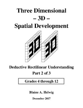3D - Spatial Development - Deductive Series - Part 2 of 3 - FREE