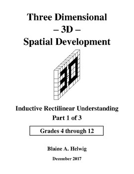 3D - Spatial Development - Inductive Series - Part 1 of 3 - FREE