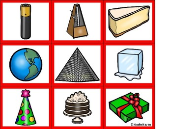 Geometric shapes in everyday objects