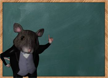 3D TWINZ: Christopher the Professor Mouse Presents
