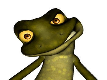 3D TWINZ: Fun with Frog Presenter!