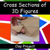 Cross-Sections of 3D Figures: Clay Project