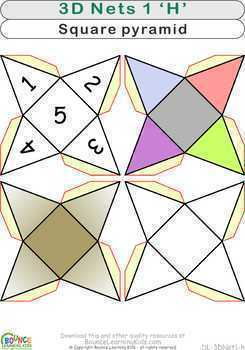 3D shapes 1 (18 distance learning worksheets for Hand-eye coodination)