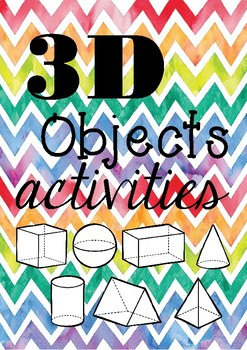 3D objects activities