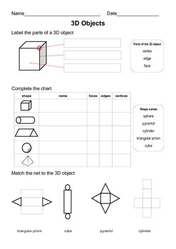 3D objects assessment