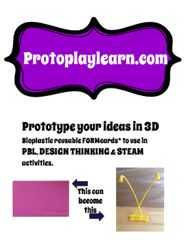 3D prototyping with FORMcards