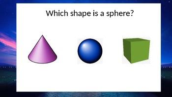 3D shape interactive powerpoint