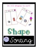 3D shape match game