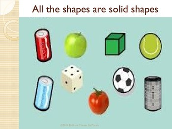 3D shapes : Mini Unit for KG to 2nd Grade Common core