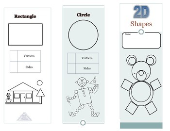 2D shapes Pamphlet (English)