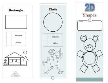 2D shapes Pamphlet (English)