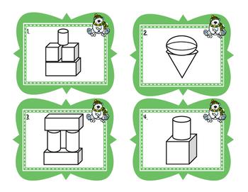 3D shapes activities {Common Core}
