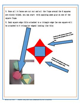 3D - surface area - Make your own MEGA 3D shape