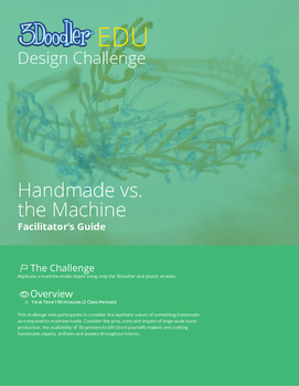 3Doodler EDU Design Challenge: Handmade vs. The Machine
