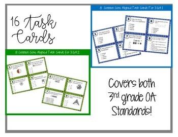 3G CCSS Standard Based Task Card Bundle - Includes all 3G Standards!