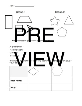3.G.1 Geometry Review