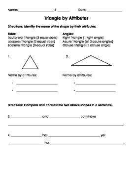 3G.1 Triangle Attributes