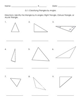 3G.1 Triangles by Sides and Angles