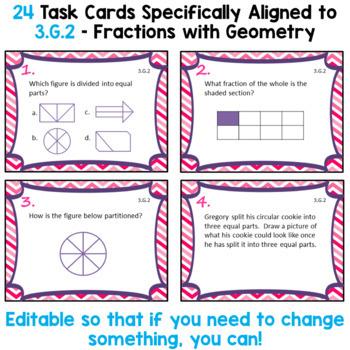 3.G.2 Task Cards