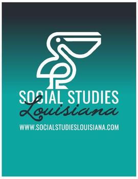 Louisiana History - Unit 1A - Louisiana's Geography - 3rd Grade