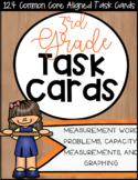 3MD CCSS Standard Based Task Cards - Includes All 3rd Grad