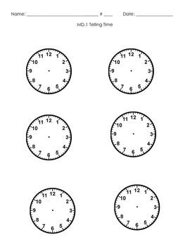 3MD.1 Clock Handout