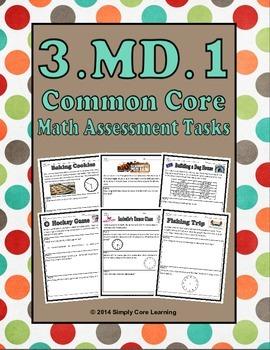 3.MD.1 Math Assessment Tasks