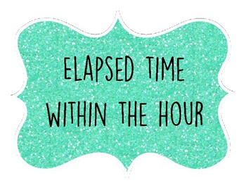3MD1 Elapsed Time Fly Away