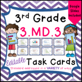 Bar Graphs and Pictographs Task Cards - 3.MD.3 - Distance