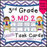 3.MD.2 Task Cards for Third Grade Math Common Core - Volume and Mass Distance