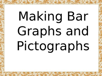 3.MD.3 Making Bar Graphs and Pictographs