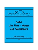 3MD4 - Line Plots - Games and Worksheets