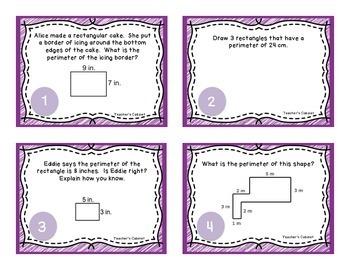 3.MD.8 Task Cards