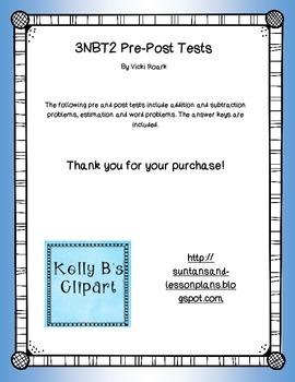 3NBT.2 Pre-Post Tests