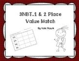 3NBT1&2 Place Value Match