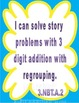 3.NBT.1, 3.NBT.2 Three Digit Addition with Regrouping Story/Word Problems