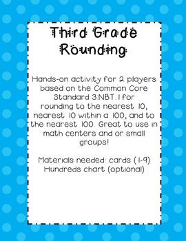 3.NBT.1 Rounding Bundle