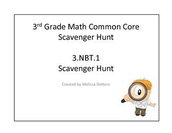 3.NBT.1 Scavenger Hunt