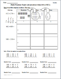 Math Plans & Sheets(3.NBT.2)Add&Subtract -3rd Grade Common Core 1st 9 Weeks