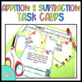{3.NBT.2} Addition and Subtraction Task Cards